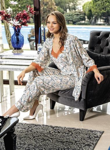 Loriva Pijama Takım Lacivert